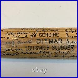 1956 Kansas City Athletics Team Signed Game Used Bat 39 Signatures PSA DNA COA