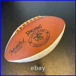 1967 Kansas City Chiefs Team Signed Autographed Spalding AFL Football JSA COA