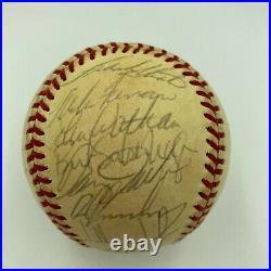 1985 Kansas City Royal World Series Champs Team Signed Baseball With JSA COA