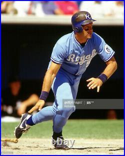 1991 George Brett Kansas City Royals Signed Game Used Cleats Pounded Pinetar Jsa