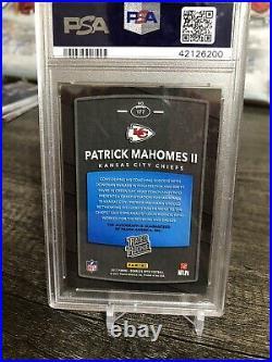 2017 Donruss Optic Patrick Mahomes #177 RC Auto Bronze Kansas City Chiefs Pop 3
