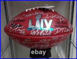 2019 Kansas City Chiefs Signed Official Super Bowl LIV Authentic Game Ball- 40+
