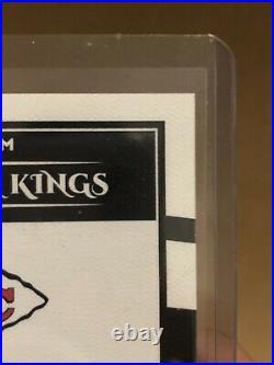 2020 Donruss Football Kansas City Chiefs Patrick Mahomes Gridiron Kings /5 auto