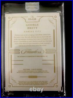 2020 Flawless GEORGE BRETT Ruby Signatures Autograph AUTO #10/20 Kansas City
