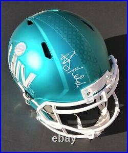 ANDY REID Kansas City Chiefs SIGNED Super Bowl LIV Full Size Helmet