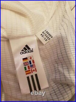 Adidas Kansas City Wizards Vtg MLS soccer jersey team signed long sleeve large