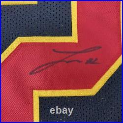 Autographed/Signed TYRANN MATHIEU Kansas City Black Football Jersey PSA/DNA COA