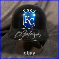 BO JACKSON signed KANSAS CITY ROYALS batting mini helmet BECKETT COA raiders BAS