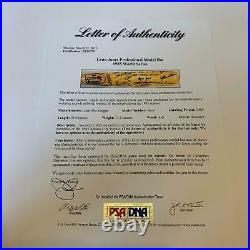 Beautiful 1985 Kansas City Royals WS Champs Team Signed World Series Bat JSA PSA