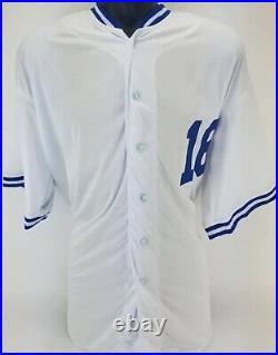 Bo Jackson Autographed Kansas City Royals Custom Baseball Jersey Beckett COA