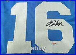 Bo Jackson / Autographed Kansas City Royals Custom Baseball Jersey / Coa