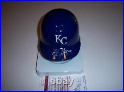 Bo Jackson Kansas City Royals 89 All Star Mvp Jsa/coa Signed Mini Helmet