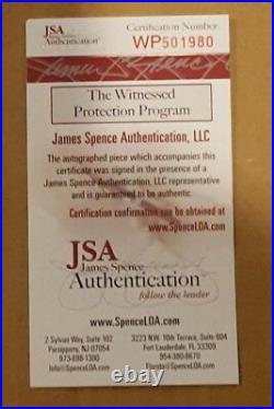 Bo Jackson Kansas City Royals Autographed Jersey Custom Framed Jsa Coa