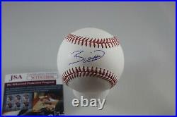 Bobby Witt Jr signed MLB baseball JSA Kansas City Royals