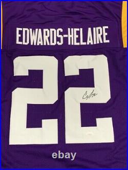 Clyde Edwards-Helaire Signed LSU Tigers Jersey JSA COA Kansas City Chiefs