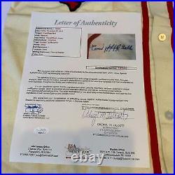 Cool Papa Bell Signed Kansas City Monarchs Negro League Jersey With JSA COA RARE