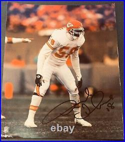 Derrick Thomas (Died 2000) PSA/DNA Kansas City Chiefs Autographed 8X10 PHOTO