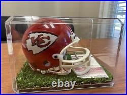 Derrick Thomas Signed Autographed Kansas City Chiefs Mini Helmet Coa Jsa Auth