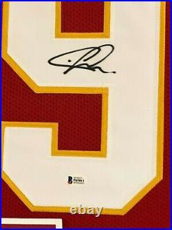 Framed Kansas City Chiefs Chris Jones Autographed Signed Jersey Beckett Coa