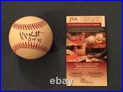 George Brett-Royals-JSA-SIGNED-AUTO-MLB-HOF 99-Kansas City-HOF