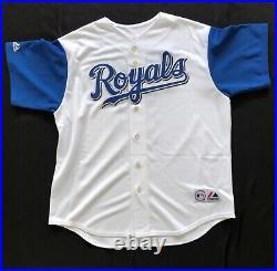 George Brett Signed autographed Kansas City Royals Majestic Jersey Steiner COA