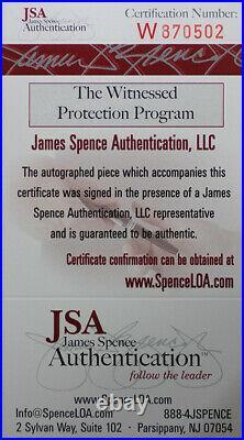 Jamaal Charles Autographed & Framed Red Kansas City Chiefs Auto JSA COA D2-L