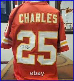 Jamaal Charles Signed Kansas City Chiefs Jersey