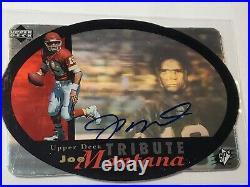 Joe Montana 1996 Upper Deck SPx Tribute Auto Autograph Kansas City Chiefs