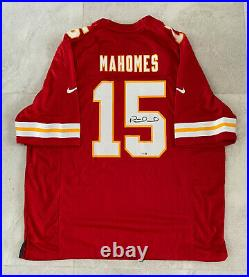 Kansas City Chiefs Patrick Mahomes Signed Nike Game Jersey Fanatics Hologram