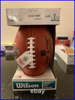 Kansas City Chiefs Superbowl LIV Signed Football (only 54 Produced). Certified