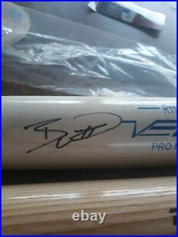 Kansas City Royals Bobby Witt Jr. Signed Rawlings Bat Jsa Witness Coa And Holo