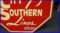 Kansas City Southern Locomotive Cab Sign 27x27