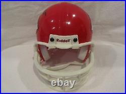Lamar Hunt Autographed Kansas City Chiefs Mini Helmet Full JSA LOA