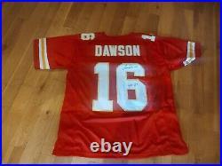Len Dawson #16 Signed Jersey XL Kansas City Chiefs JSA Certified
