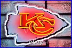 New Kansas City Chiefs Neon Light Sign 17 HD Vivid Printing Technology