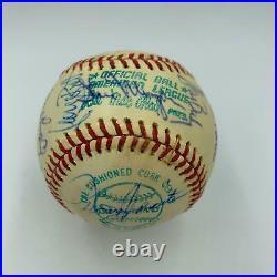 Nice 1976 Kansas City Royals Team Signed American League Baseball George Brett