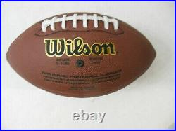 PATRICK MAHOMES & TRAVIS KELCE KANSAS CITY CHIEFS SIGNED WILSON FOOTBALL withPROOF