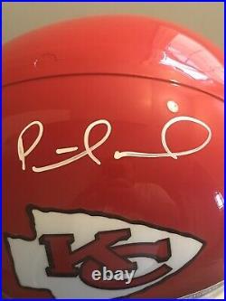 Patrick Mahomes Autograph Signed Full Size Kansas City Chiefs Helmet Beckett COA