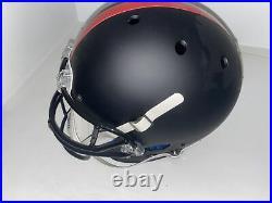 Patrick Mahomes Autographed Kansas City Chiefs Blackout Full Size Rep Helmet Jsa