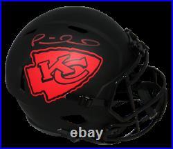 Patrick Mahomes Autographed Kansas City Chiefs Eclipse Full Size Helmet Jsa