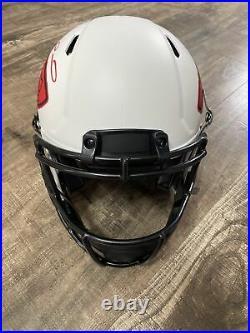 Patrick Mahomes Autographed Kansas City Chiefs Lunar Authentic Helmet Beckett
