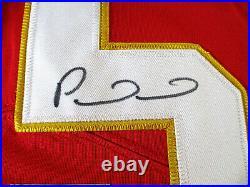 Patrick Mahomes / Autographed Kansas City Chiefs Pro Style Football Jersey / Coa