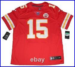 Patrick Mahomes Autographed Kansas City Chiefs Red Nike Limited Jersey Jsa