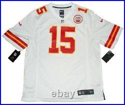Patrick Mahomes Autographed Signed Kansas City Chiefs #15 Nike Game Jersey Jsa