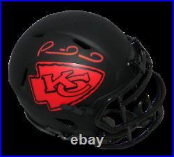 Patrick Mahomes Autographed Signed Kansas City Chiefs Eclipse Mini Helmet Jsa