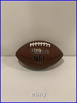 Patrick Mahomes Autographed Signed Kansas City Chiefs Wilson Ball Football & Coa