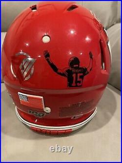 Patrick Mahomes Autographed Speed Pro Full size helmet