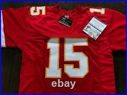 Patrick Mahomes Kansas City Chiefs Autographed Custom Jersey With COA