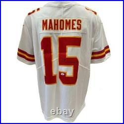 Patrick Mahomes Kansas City Chiefs Autographed On Field Away Nike Jersey