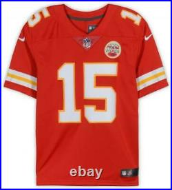 Patrick Mahomes Kansas City Chiefs Autographed Red Nike Game Jersey